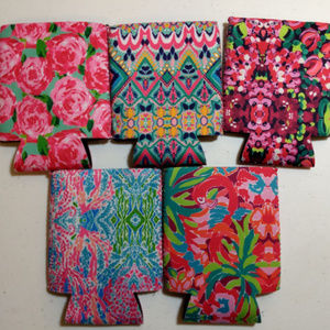 Lilly Pulitzer Inspired Drink Koozies New